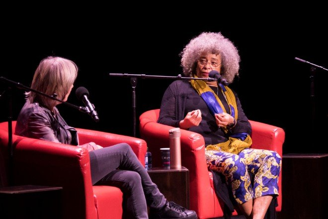 Angela Davis at the Women of the World Festival